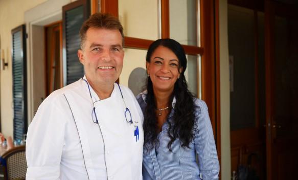 Jean-Claude Volery & Marisa Restaurant Auberge de Gilly