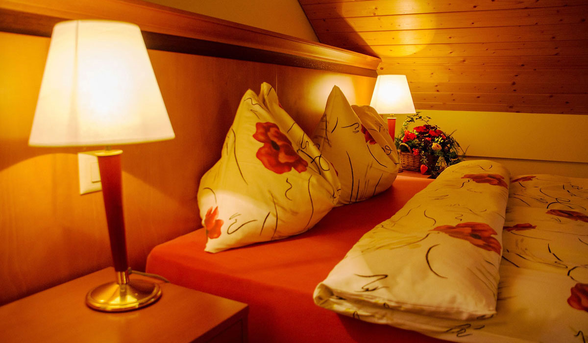 Chambre double Auberge de Gilly