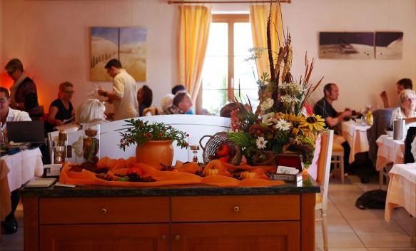 Salle à manger Restaurant Auberge de Gilly