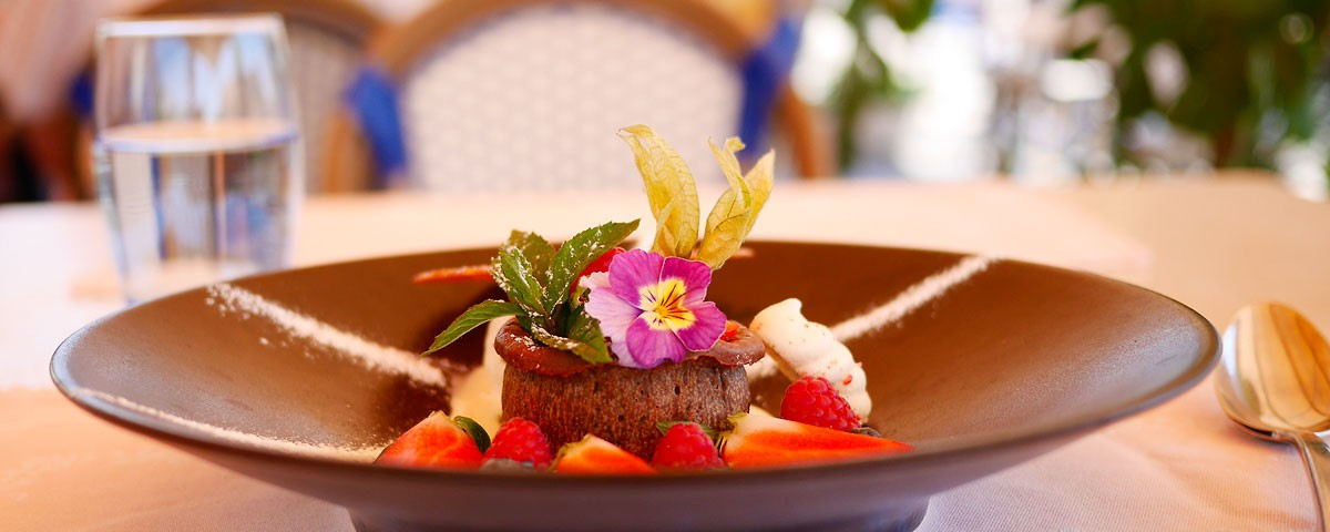 Moelleux au chocolat Chaud Auberge de Gilly