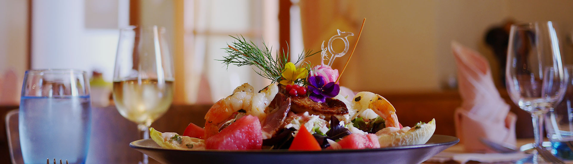 Salade Estivale Auberge de Gilly