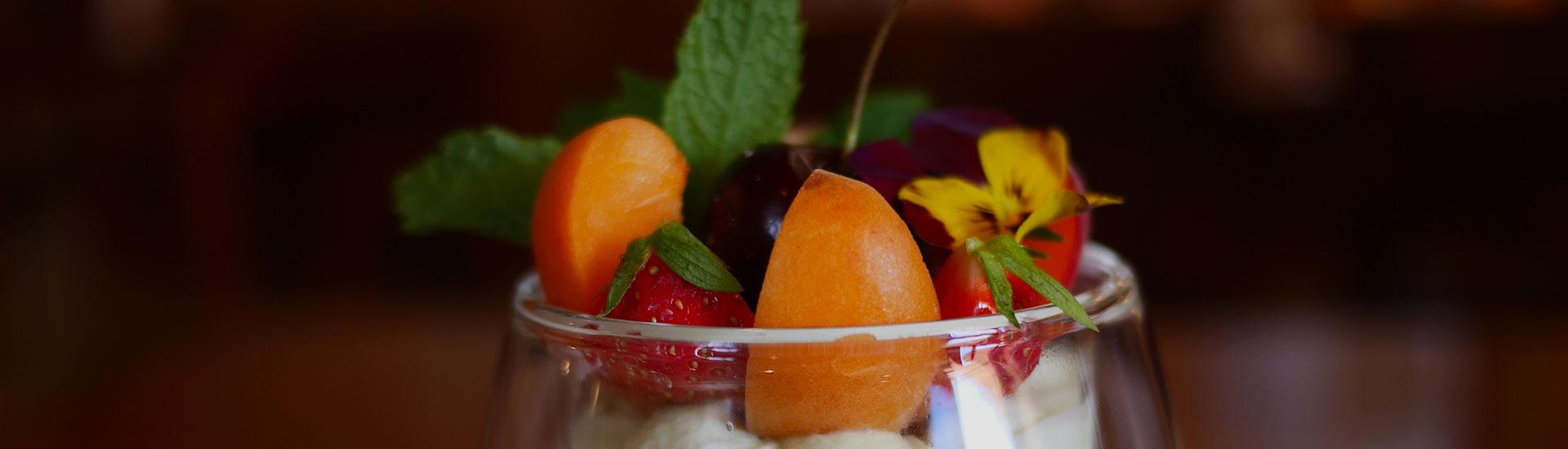 Dessert Auberge de Gilly