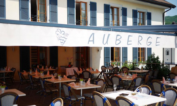 Carnotzet Restaurant Auberge de Gilly