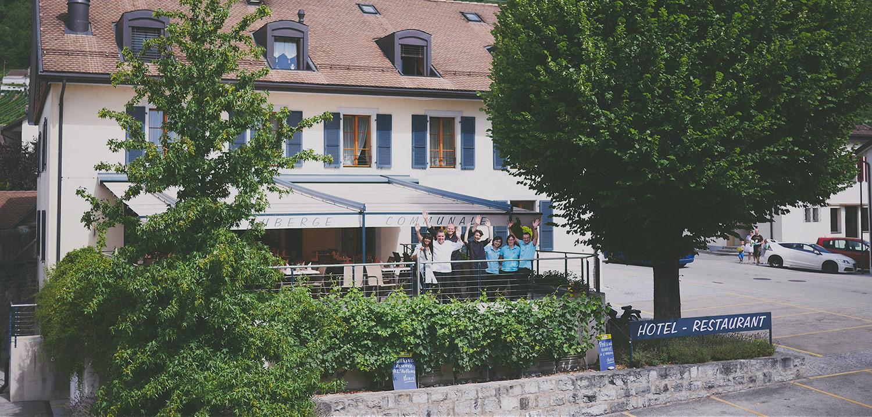 1 Hôtel restaurant Auberge de Gilly