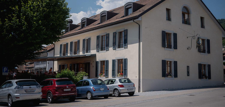 Bannière Bâtiment Auberge de Gilly