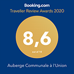 Booking Award Auberge de Gilly
